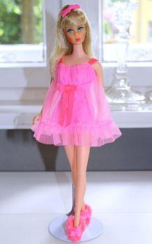 Barbie Fashionistas White Cotton Frilly Hem Skirt New